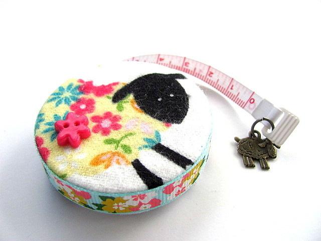 Tape Measure Flower Sheep Retractable Measuring Tape