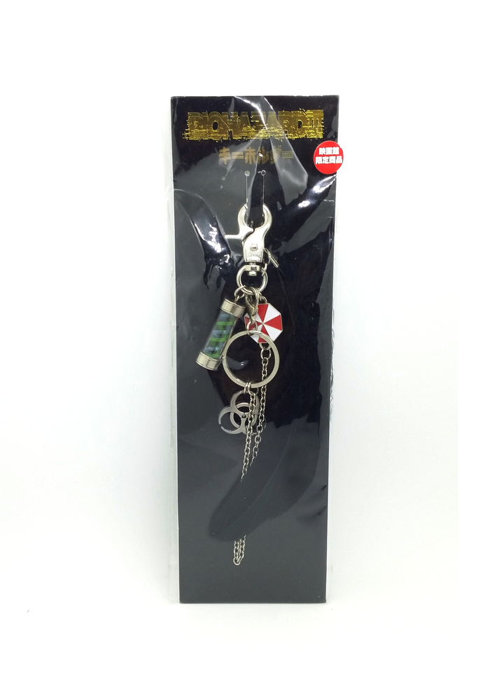 BIOHAZARD 3 Movie Promo Keychain / Bag Charm - Resident Evil Theater Limited