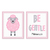 Be Gentle_Pink Set - Printable Wall Art