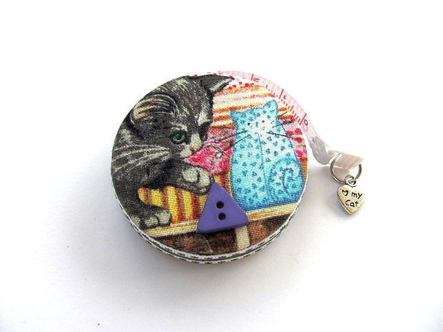 Tape Measure Curious Cats Retractable Measuring Tape