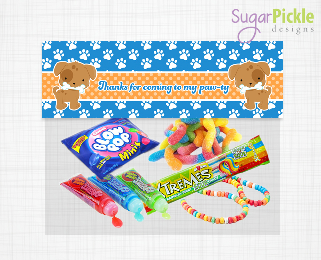 Puppy Party Set, Puppy Party Printables, Puppy Birthday printables, Puppy Party