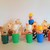 Vintage Fisher Price Little people- Western Town Beige Wagon and accessories
