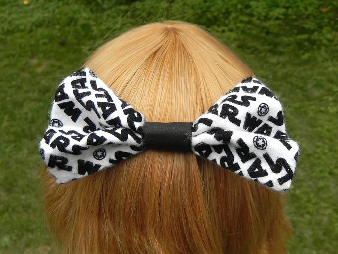 Simple Star Wars Hair Bow
