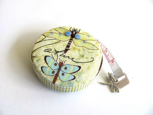Measuring Tape Nature's Dragonflies Retractable Pocket Tape Measure
