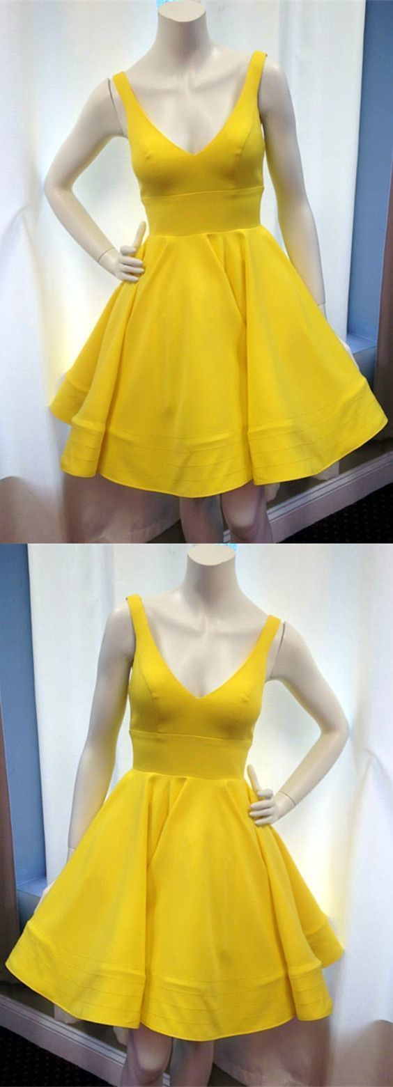 9e94914cee5 Cute V Neck Ruffles Homecoming Dresses Short Mini Prom Dresses Ball Gowns