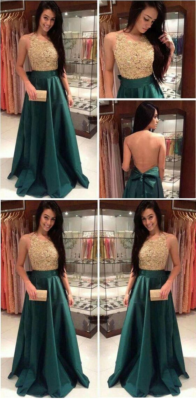 f7a46f9d542 green Prom Dresses