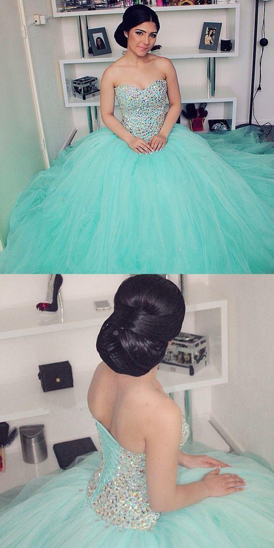 c73b6d5219 mint green quinceanera dress