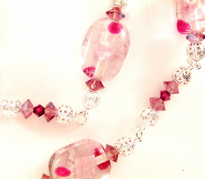 Rose Gilded Age Necklace