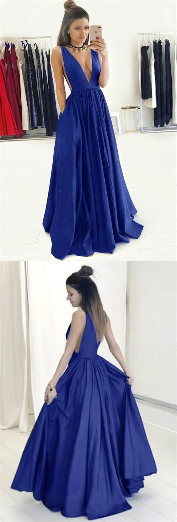 4201ca99ec7 Cheap Royal Blue Formal Gowns