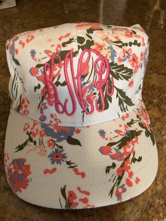 Custom Baseball hats, Monogram Baseball  Hat- Embroidered Hat,personalized,