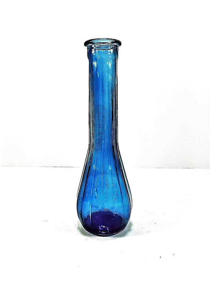 Blue Colored Glass Genie Bottle By Backwoods Lighting Llc On Zibbet