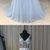 2019 New Arrival V-Neck Beaded long prom dress, evening dress,prom dresses G15