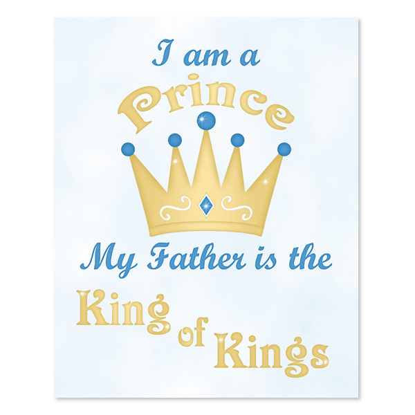 I Am A Prince_Printable Wall Art