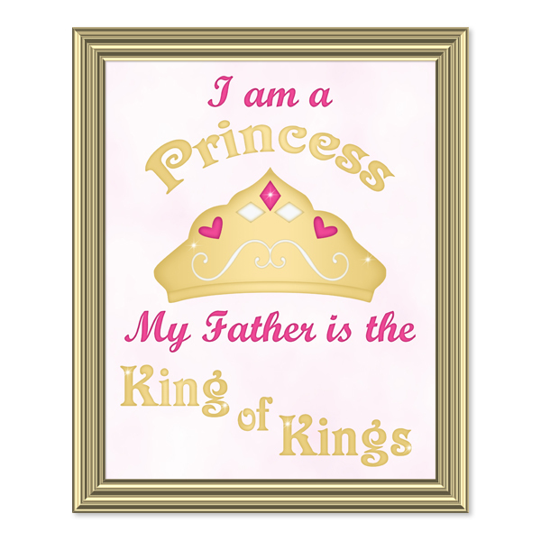 i Am A Princess_Printable Wall Art