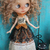 Blythe doll OOAK dress- *Tongue of toad* magic spell Halloween outfit