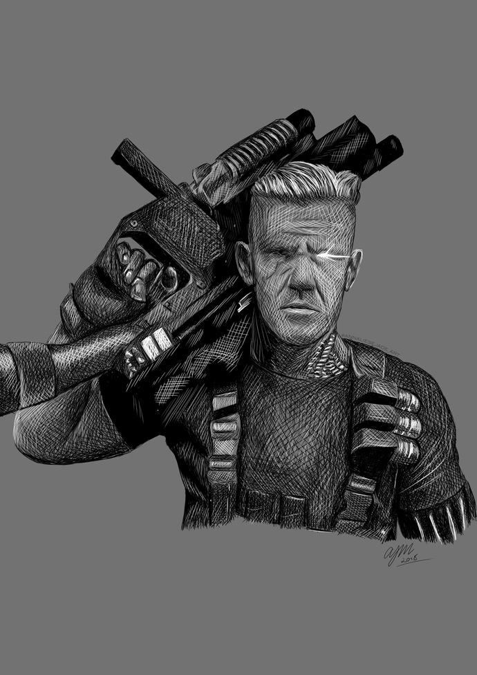 PRINTS - Cable (Marvel)
