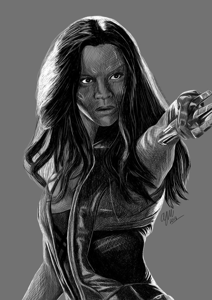 PRINTS - Gamora (Marvel)