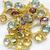 Stunning Colorful ! Sterling Silver Semi Precious Mulit Color Semi Precious
