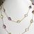 Colorful Stunning! 925 Sterling Silver Semi Precious Mulit Color Semi Precious
