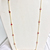 925 Sterling Silver  Precious Natural Ruby  stone Chain Jewelry Necklace