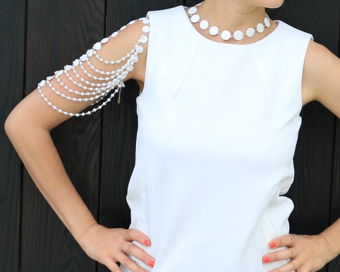 Arm Bracelet Konte, Shoulder Pearl Bracelet