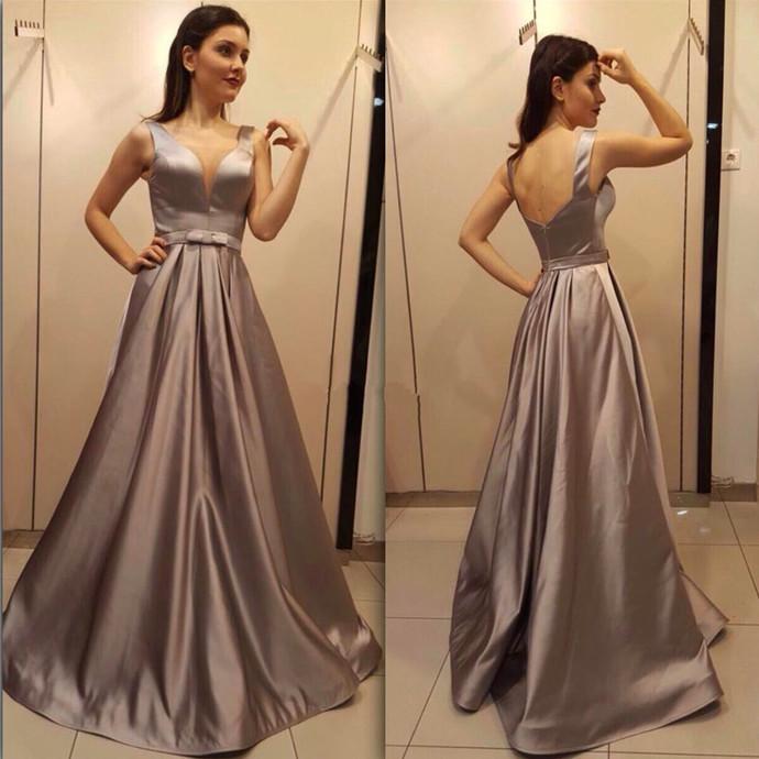 Custom Made Prom Dress,Backless Prom Dress,Simple Prom Dress,Satin Prom  Dress,Plus Size Evening Dress,Long Prom Party Dress,Formal Dress,