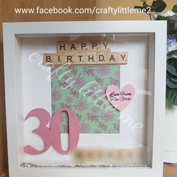 Personalised Birthday Frame Gift Special