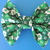 Green Candy Dog Collar Bowtie
