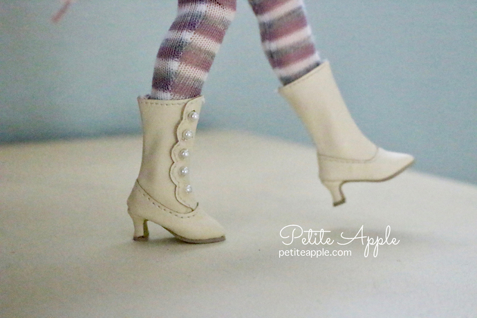 Victorian Boots for Blythe/Pullip dolls and others