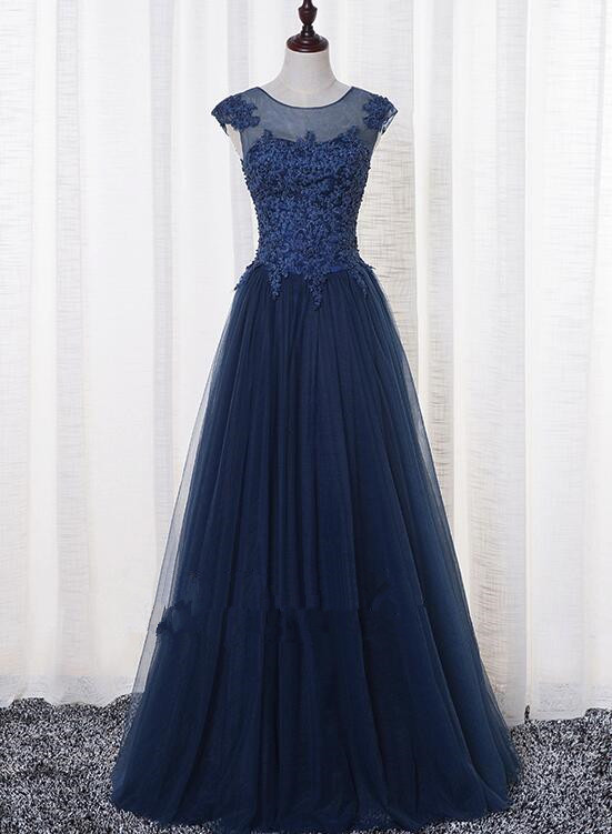 206bef0cde6 Lovely A-line New Style Prom Dresses 2019
