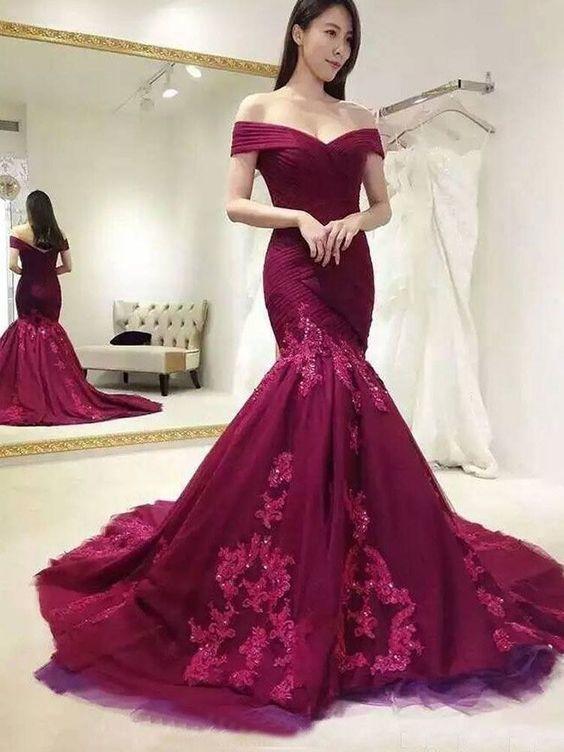 Custom Made Prom Dresses, Prom Dresses Mermaid Prom Dresses, Long Prom Dresses,