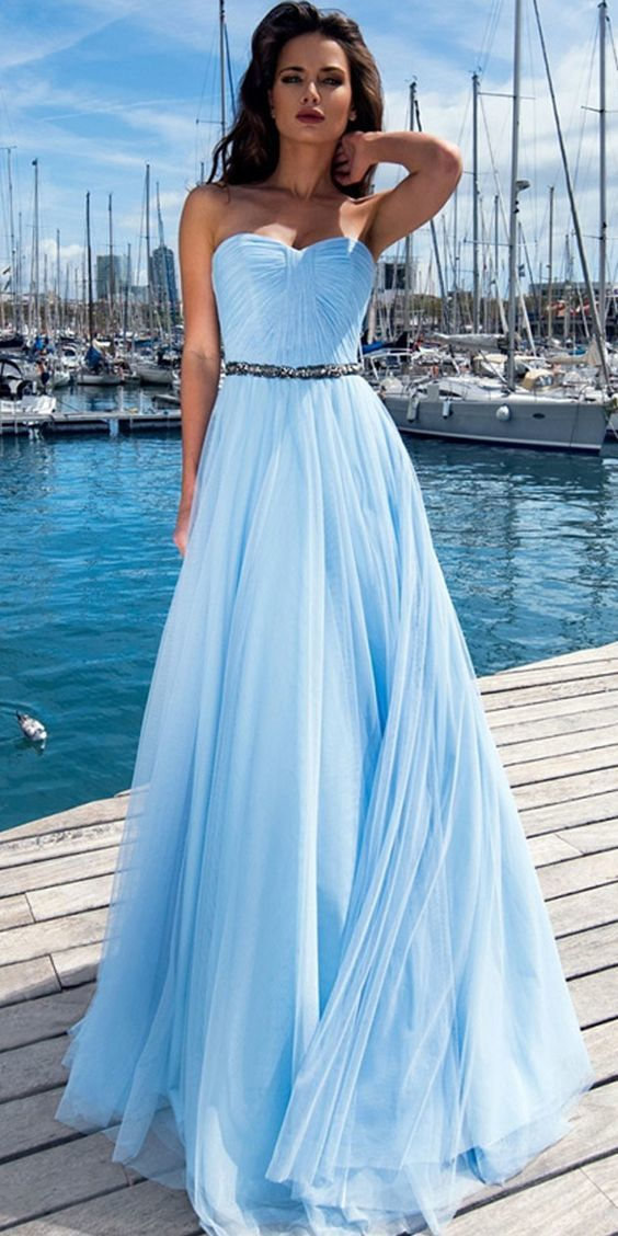 Exquisite Tulle Prom Gownssweetheart By Prom Dresses On Zibbet