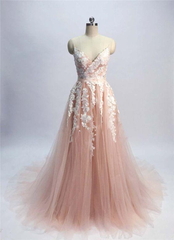 Champagne Pink Dress