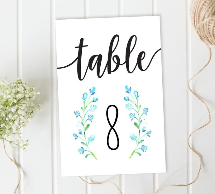 graphic regarding Diy Printable Table Numbers identify Marriage ceremony Desk Playing cards, Bluebell Desk Figures, Reception Desk Quantities, Do-it-yourself Marriage, Printable Desk Figures, Bluebell Marriage, Measurement 4x6