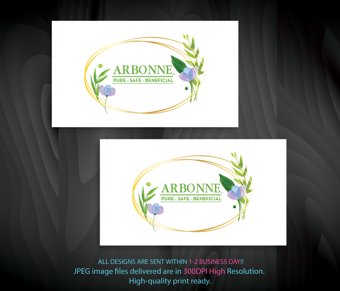 Arbonne Business Cards, Arbonne Consultant Cards, Business Cards, Free