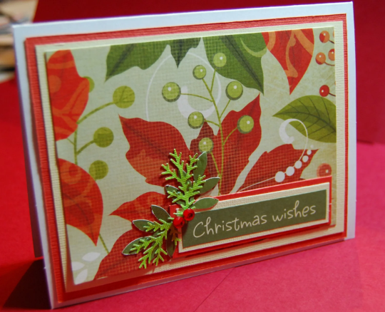 Christmas wishes card handmade holiday by smiles4paper on zibbet christmas wishes card handmade holiday greeting card m4hsunfo