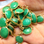 Gorgeous Stunning  !  925 Sterling Silver Faceted Natural Chrysoprase Apple