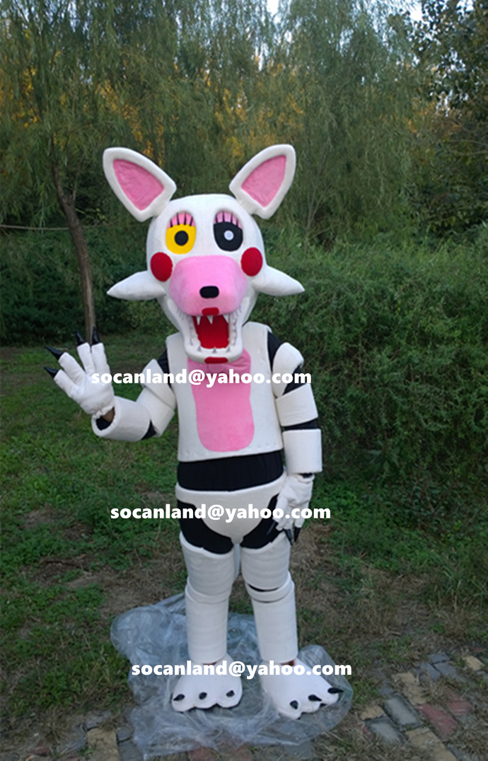 FNAF Mangle Mascot Costumes FNAF Mangle Costumes FNAF Costumes FNAF Games Kids