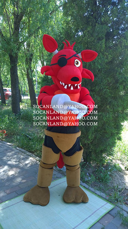 FNAF Foxy Mascot Costumes,FNAF Foxy Costumes, FNAF Costumes,FNAF Games,Kids