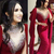Mermaid Evening Dress, Burgundy Evening Dress, Saudi Arabic Prom Dresses