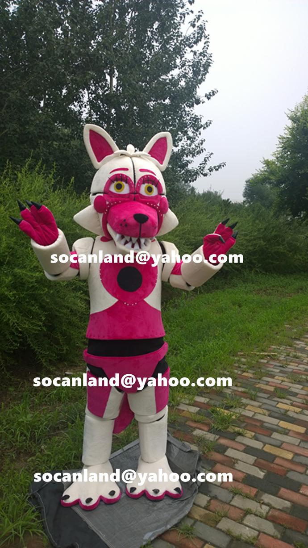 Fnaf Funtime Foxy Mascot Costumesfnaf By Ibetter Life On Zibbet