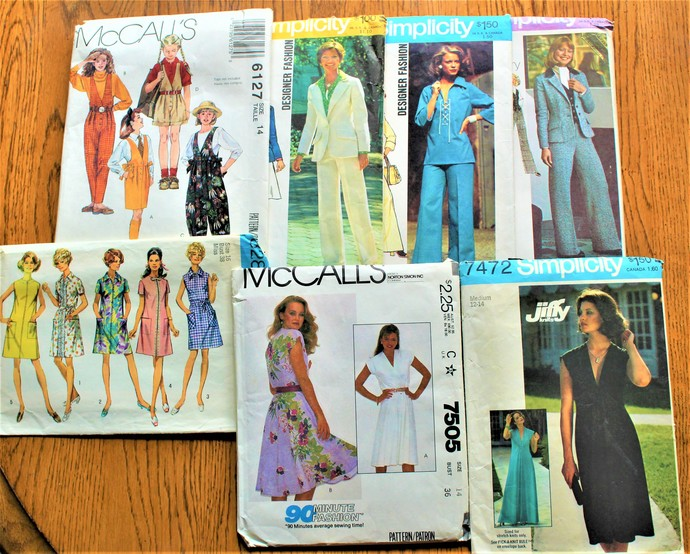 Vintage Sewing Patterns McCalls Simplicity By ScrapPantry On Zibbet Cool Vintage Simplicity Patterns