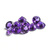 9 MM Round African Amethyst  faceted Flawless Loose Gemstone AAA Quality