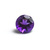 7 MM Round African Amethyst  faceted Flawless Loose Gemstone AAA Quality