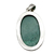 LARGE ! 925 Sterling Silver Malachite Gemstone Oval Cabochon Hand polished