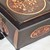 LOCKABLE Walnut & Copper. Unique wood JEWELLERY Box / KEEPSAKE Box. Copper