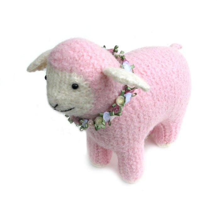 Stuffed Pink Lamb