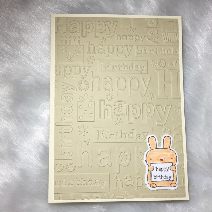 Birthday Card Assorted Set (5 Cards)