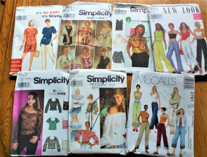 Vtg Patterns Simplicitynew Look Mc Calls By Scrappantry On Zibbet