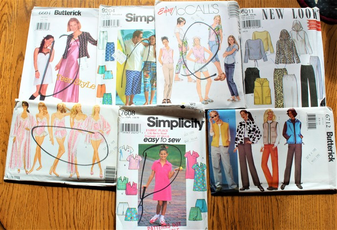 Patterns Simplicity Htf Mccallsnew Lookrare By Scrappantry On